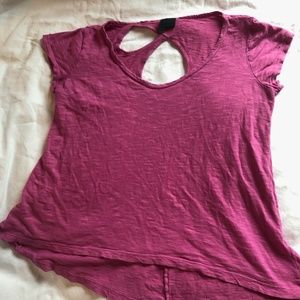 Anthropologie Left of Center Flowy Top (S/M)